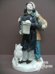 "Скульптура ""Друзья птиц"""